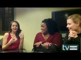 Community Season 4 Gillian Jacobs, Alison Brie &amp Yvette Nicole Brown Interview