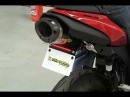 Kawasaki ZX-6R with Two Brothers Racing Slip-on Exhaust and the included Fender Eliminator Kit