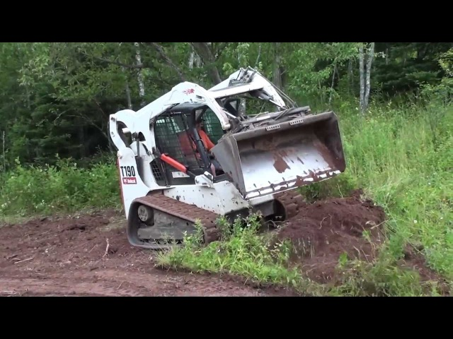 Landshaping with my Bobcat T190