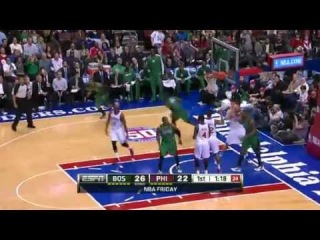 NBA CIRCLE - Boston Celtics Vs Philadelphia 76ers Highlights 7 December 2012 www.nbacircle.com