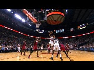Nicolas Batum Torches the Heat in Portland