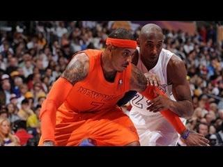 Kobe bests Carmelo in Christmas duel!