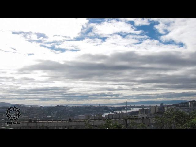 Небо над Владивостоком после тайфуна SANBA 18.09.2012