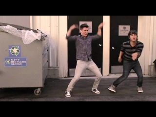 Carlos & Logan's solo record dance from Big Time Surprise