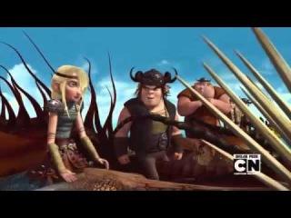Драконы: Всадники Олуха (DreamWorks' Dragons: Riders of Berk) - ролик