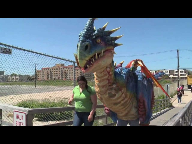 Викинг Сиг и малыш Злобного Змеевика - How to Train Your Dragon Live Spectacular
