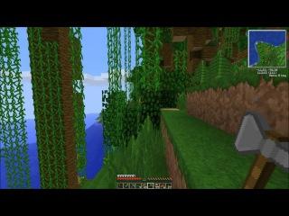 Minecraft 1.4.7 Survival Island (Coop) [Серия 8]