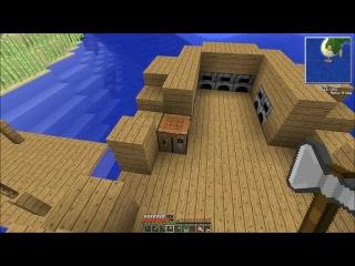 Minecraft 1.4.7 Survival Island (Coop) [Серия 10]