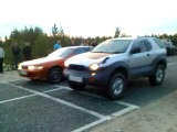 CHAASER VS ISUZU VEHI CROSS