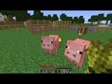 Как приручить/приманить/развести животных в Minecraft.