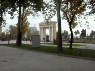 Душанбе-центр.Проспект Ленина и площадь Ленина.mp4