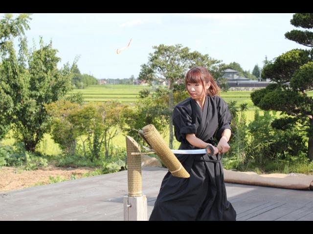 抜刀試斬稽古 失敗集 Japanese Katana Failure Cutting 日本刀試し斬り