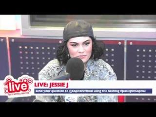 Вебчат с Jessie J на радиостанции Capital FM