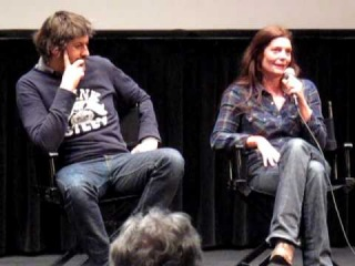 Director Christophe Honoré and actor Chiara Mastroianni discuss,