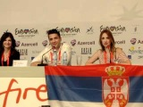 ESCKAZ live in Baku: Zeljko Joksimovic (Serbia) Press Conference Part 2