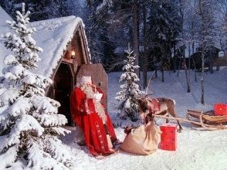 Новогоднее приключение Санты Клауса на оленях HD