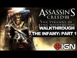 Assassin's Creed 3: Tyranny of King Washington Walkthrough - The Infamy: Awaken (Part 1)