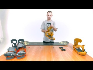 Как собрать сноуборд комплект