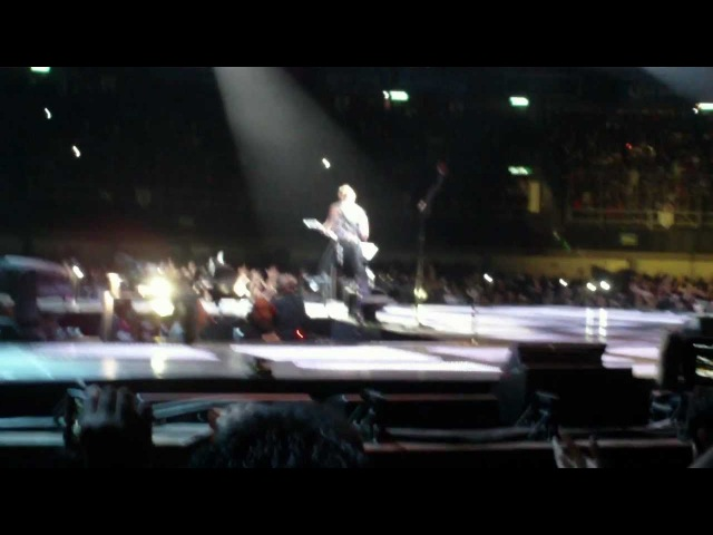 Ectasy of gold Creeping Death For whom Metallica Mexico City Palacio 28 Julio 2012 FullHD