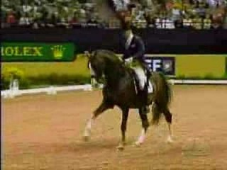 Jan Brink and Briar at the 2007 Rolex FEI World Cup Finals