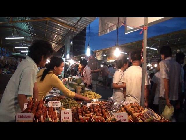 Thepprasit market in Jomtien 2012 The food