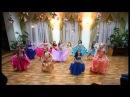 Восточные танцы, Донецк - Ферюза - дети младшая группа - 30.12.12