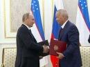 Владимир Путин посетил с официальным визитом Узбекистан - Первый канал