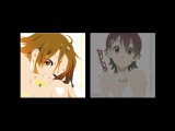 K-ON!! Come With Me!! Ritsu and Nodoka Mix