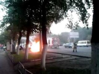 Авария на автовокзале в Воронеже