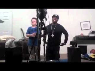 Keenan Cahill 50 Cent Lip Synch Over Night by Matt Petrin for Chelsea Lately show