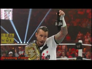 After RAW 7/25/11: CM Punk said