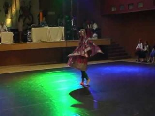 Afghani on the Championship of Czech Republic in Oriental dance.2 place Folk Solo Adults