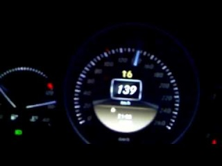 Mercedes c180 W204 acceleration 0-175