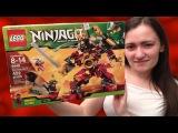 New 2012 Lego Ninjago 9448 Samurai Mech Lego Review