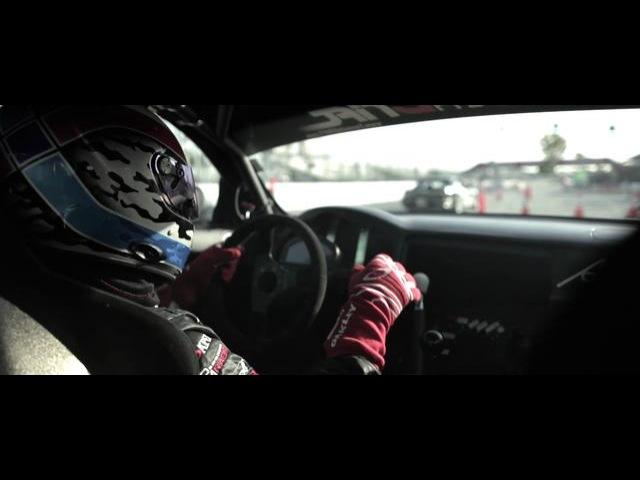 In Car: Pat Mordaunt Practice Following Nick Dalessio Formula D Long Beach 2012
