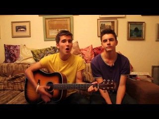 Chris Daughtry - What About Now (Acoustic Cover by Golden Brothers)