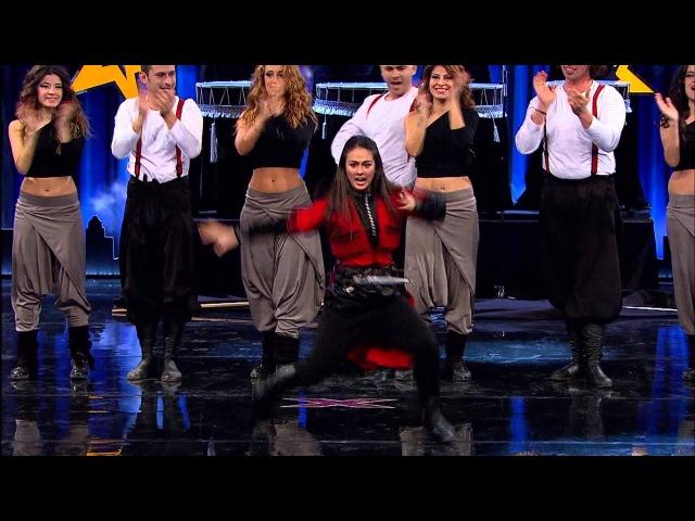 YETENEK SİZSİNİZ TÜRKİYE - 2.TUR - Grup Dir и кавказский танец