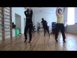 3 танец (обучалка) - ХИП-ХОП - танцует Dance Mob и все желающие