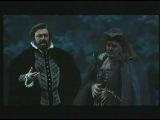 Luciano Pavarotti. DON CARLO. VERDI. a mezzanotte, ai giardin della regina. duetto