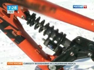 Twoowt skiboards - skibike RUSSIA1 TV