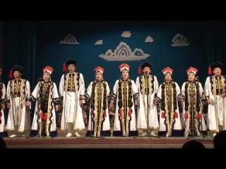 Калмыцкие народные танцы. Часть 1
