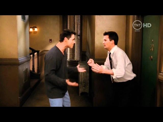 Friends Друзья 1994 2004 Джо Чендлер и фанатка Джо