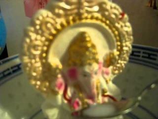 MILK MIRACLE Lord Ganesh Drinks Milk Offering