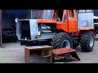 Копия видео Посмотри Тест драйв Трактор Т-150 Луганск