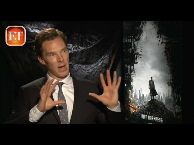 Benedict Cumberbatch - Star Trek Into Darkness ET Interview