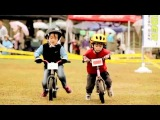 Как в Японии детей учат кататься на велосипедах и выполнять простые трюки
