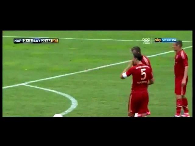 Xherdan shaqiri - goal with Bayern Munich vs Napoli