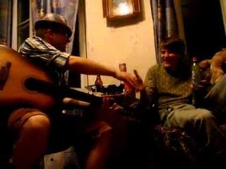 Андрей Губин с гитарой (прикол под наркотой) 2012