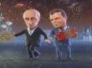 Частушки Путина и Медведева на Новый 2011 Год