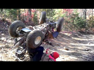 Really Bad ATV Crash/wreck